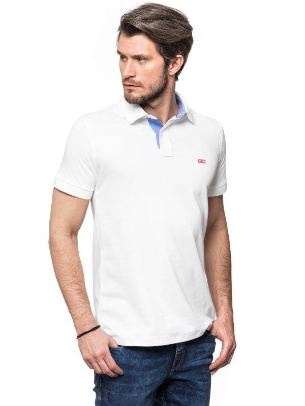 Koszulka Improve biała z jeansem